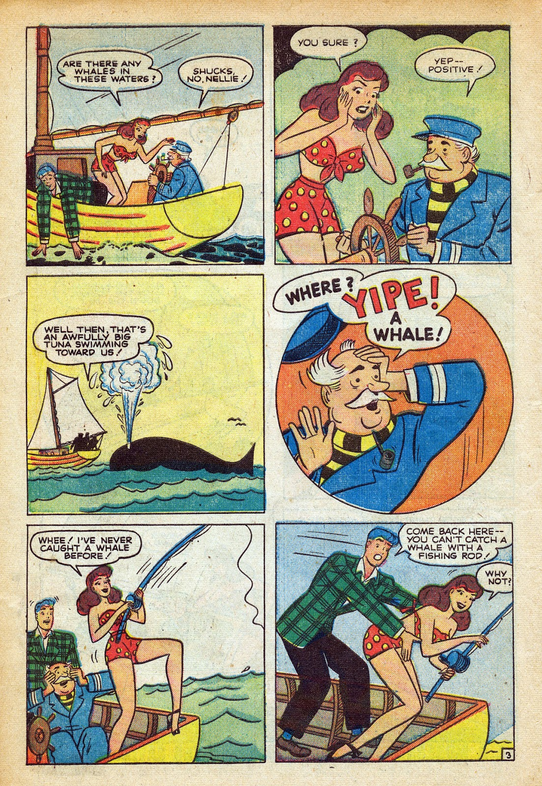 Read online Nellie The Nurse (1945) comic -  Issue #20 - 14