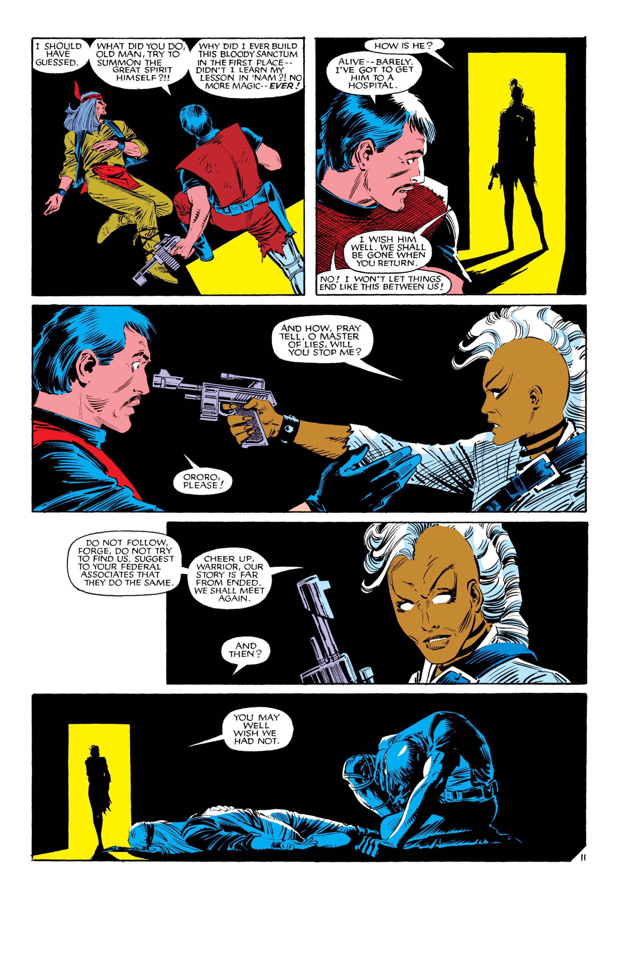Read online Uncanny X-Men (1963) comic -  Issue #188 - 12