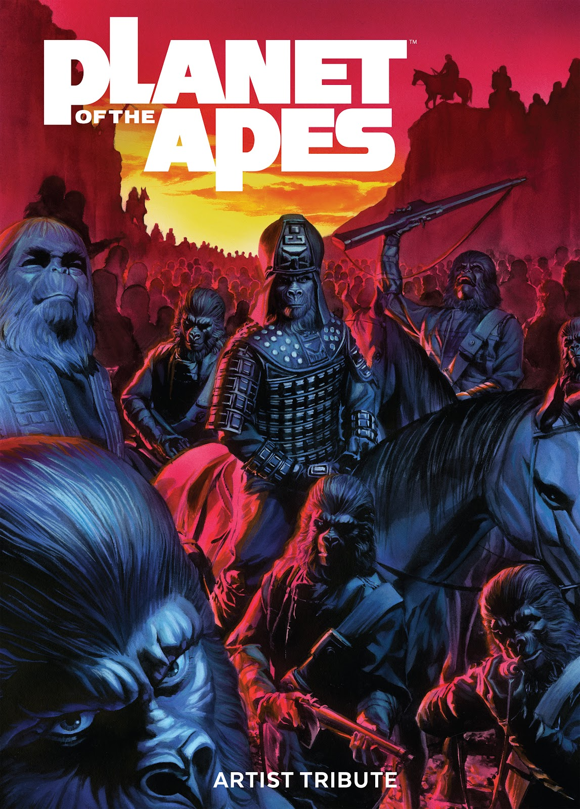 Read online Planet of the Apes Artist Tribute comic -  Issue # TPB - 1