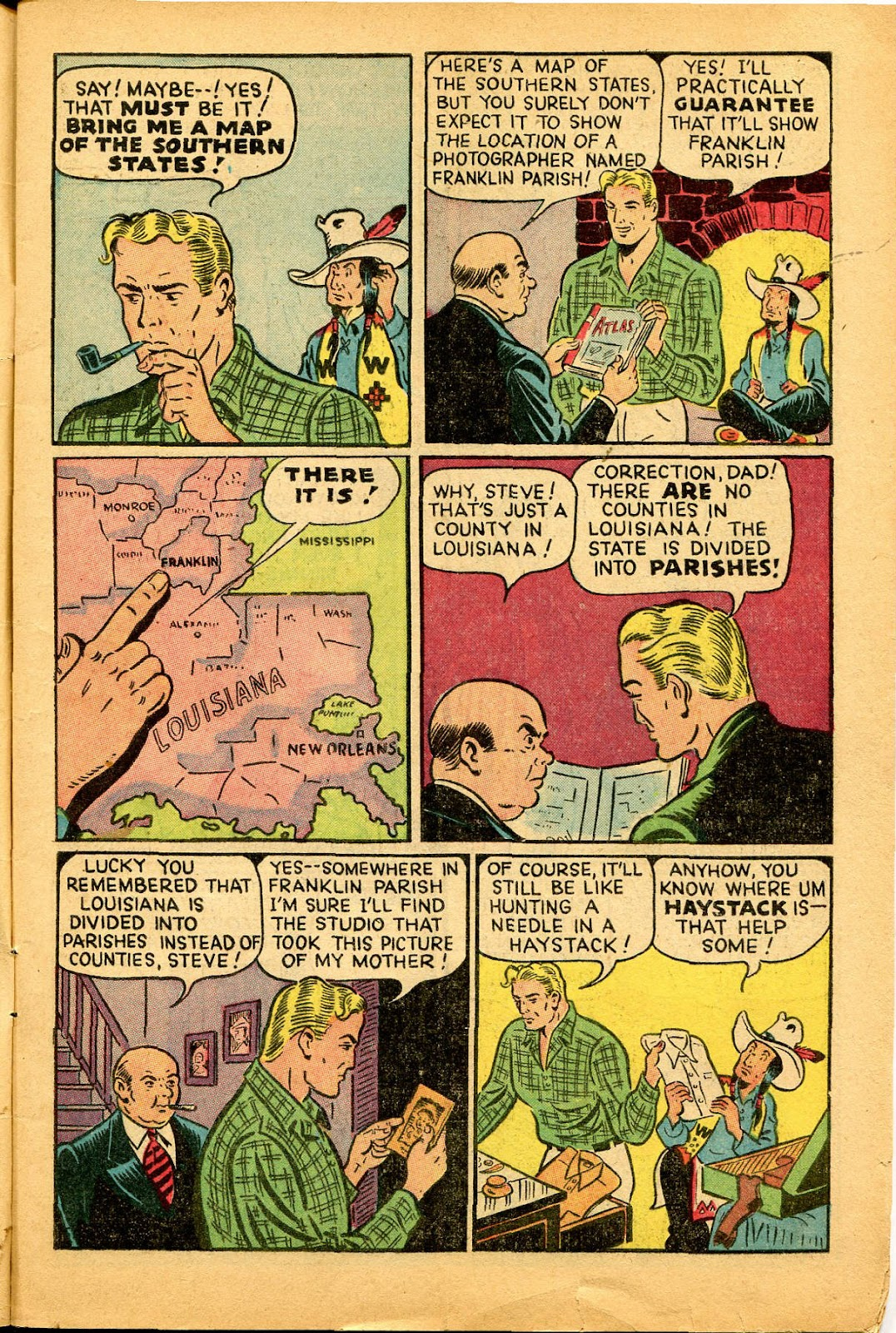 Read online Famous Funnies comic -  Issue #159 - 5