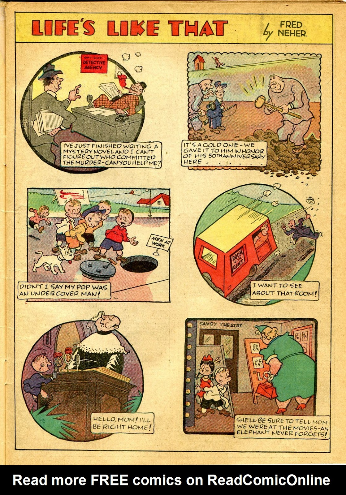 Read online Famous Funnies comic -  Issue #41 - 21