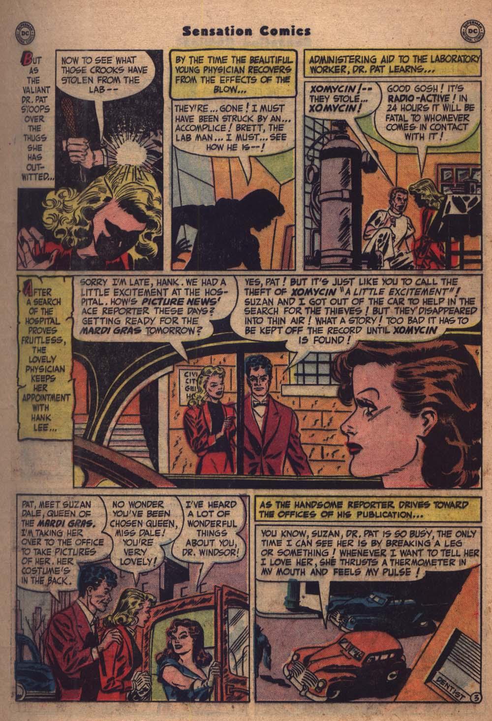 Read online Sensation (Mystery) Comics comic -  Issue #103 - 24