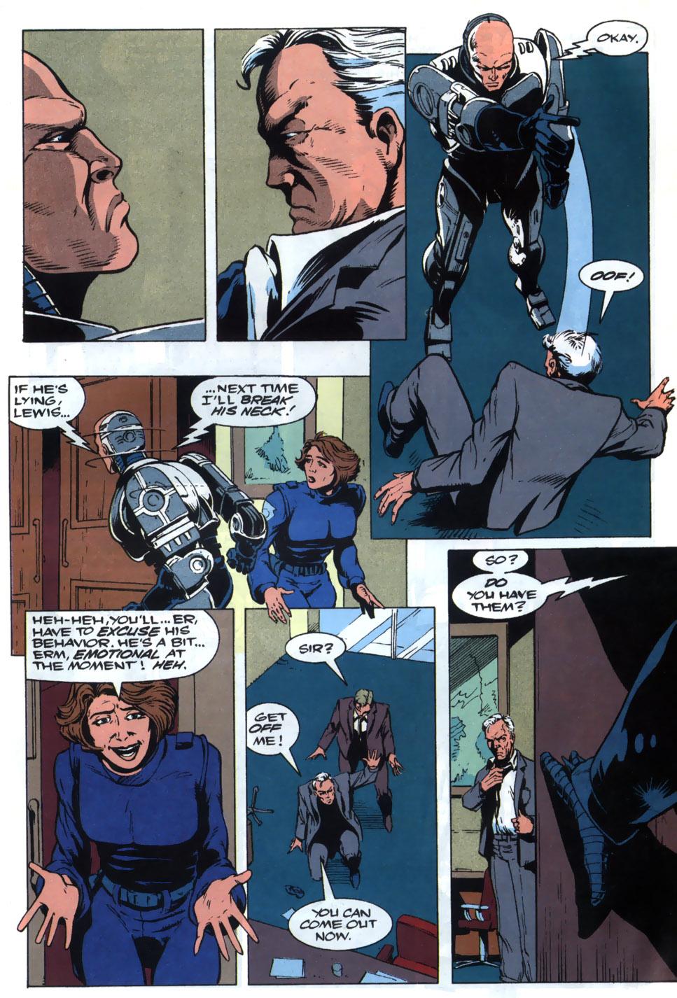Read online Robocop (1990) comic -  Issue #20 - 4