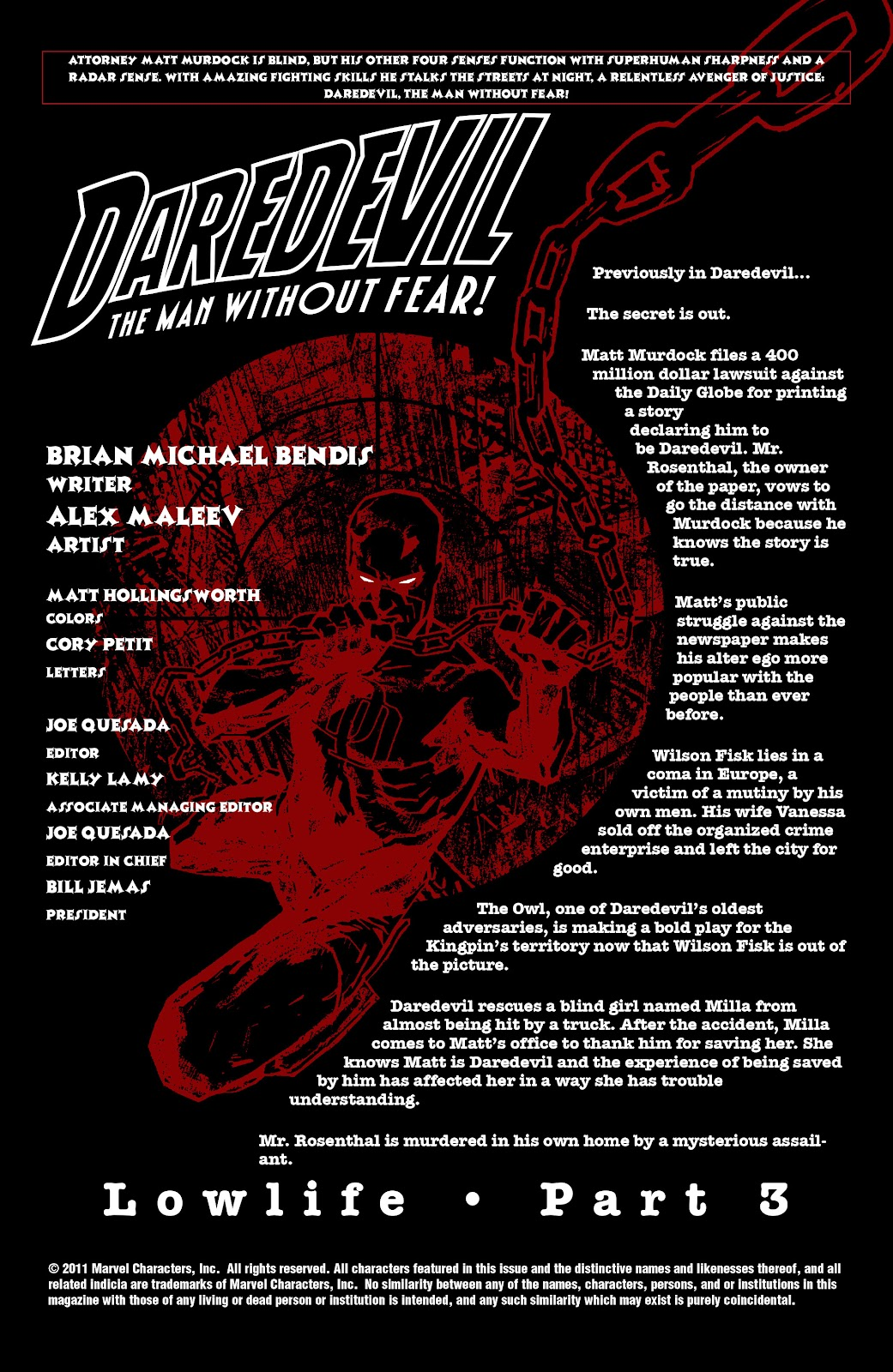 Read online Daredevil (1998) comic -  Issue # _Ultimate_Collection TPB 2 (Part 1) - 52