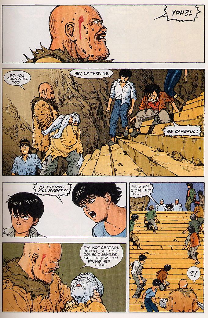 Read online Akira comic -  Issue #24 - 27