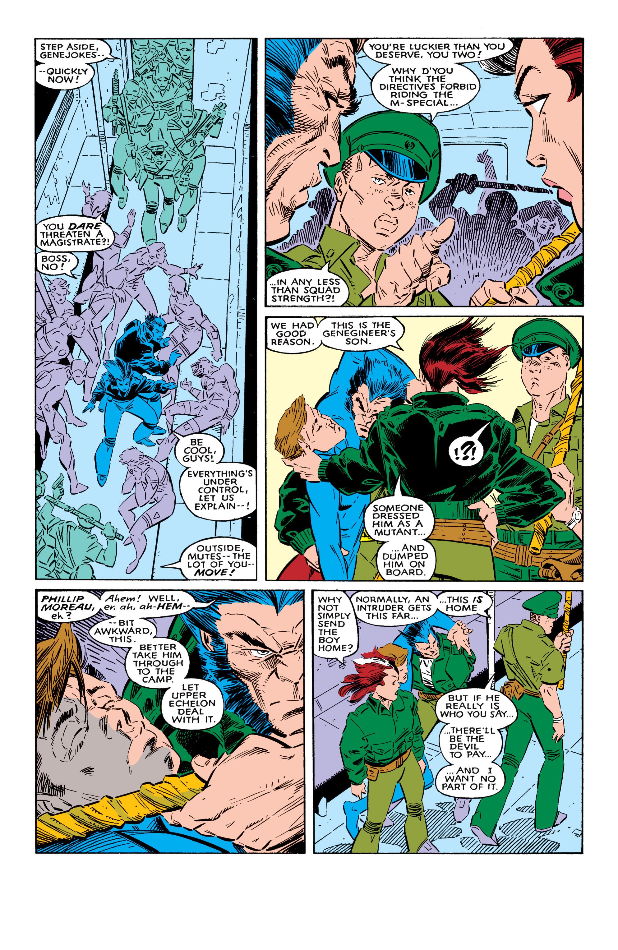 Read online Uncanny X-Men (1963) comic -  Issue #237 - 22