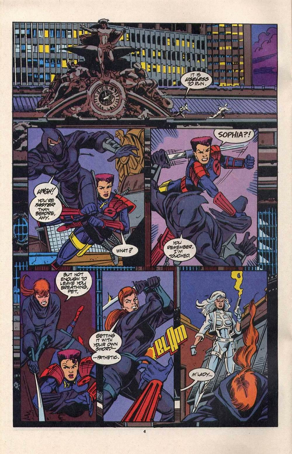 Read online Silver Sable and the Wild Pack comic -  Issue #28 - 5
