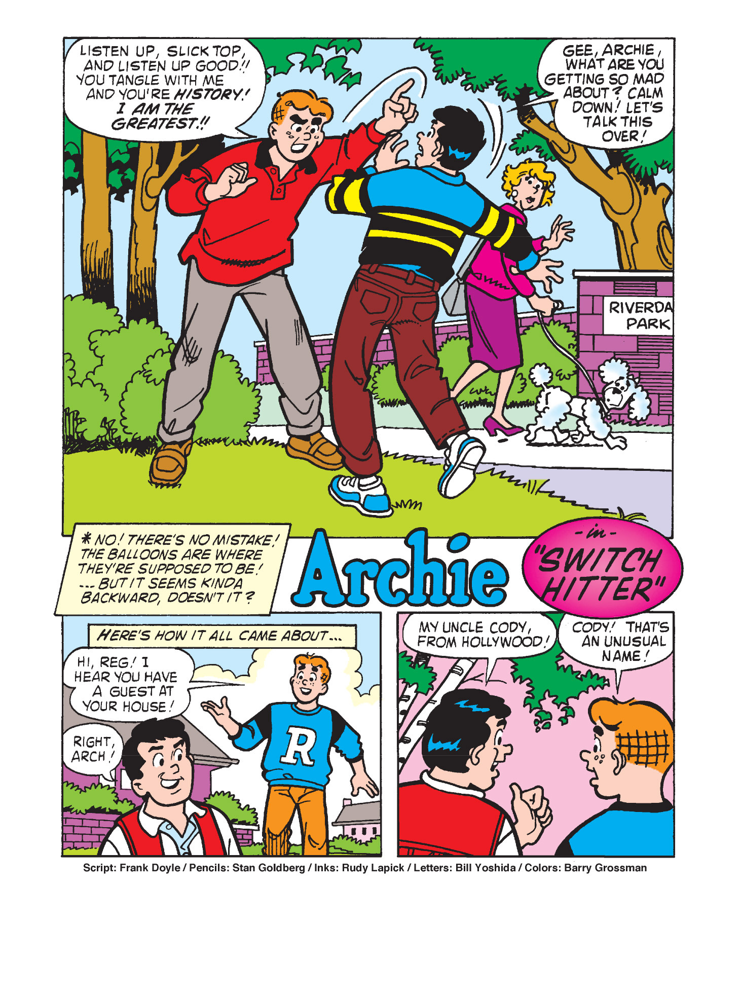 Read online Archie's Funhouse Double Digest comic -  Issue #9 - 111
