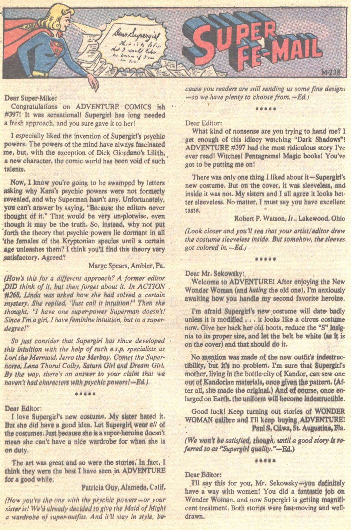 Read online Adventure Comics (1938) comic -  Issue #401 - 32