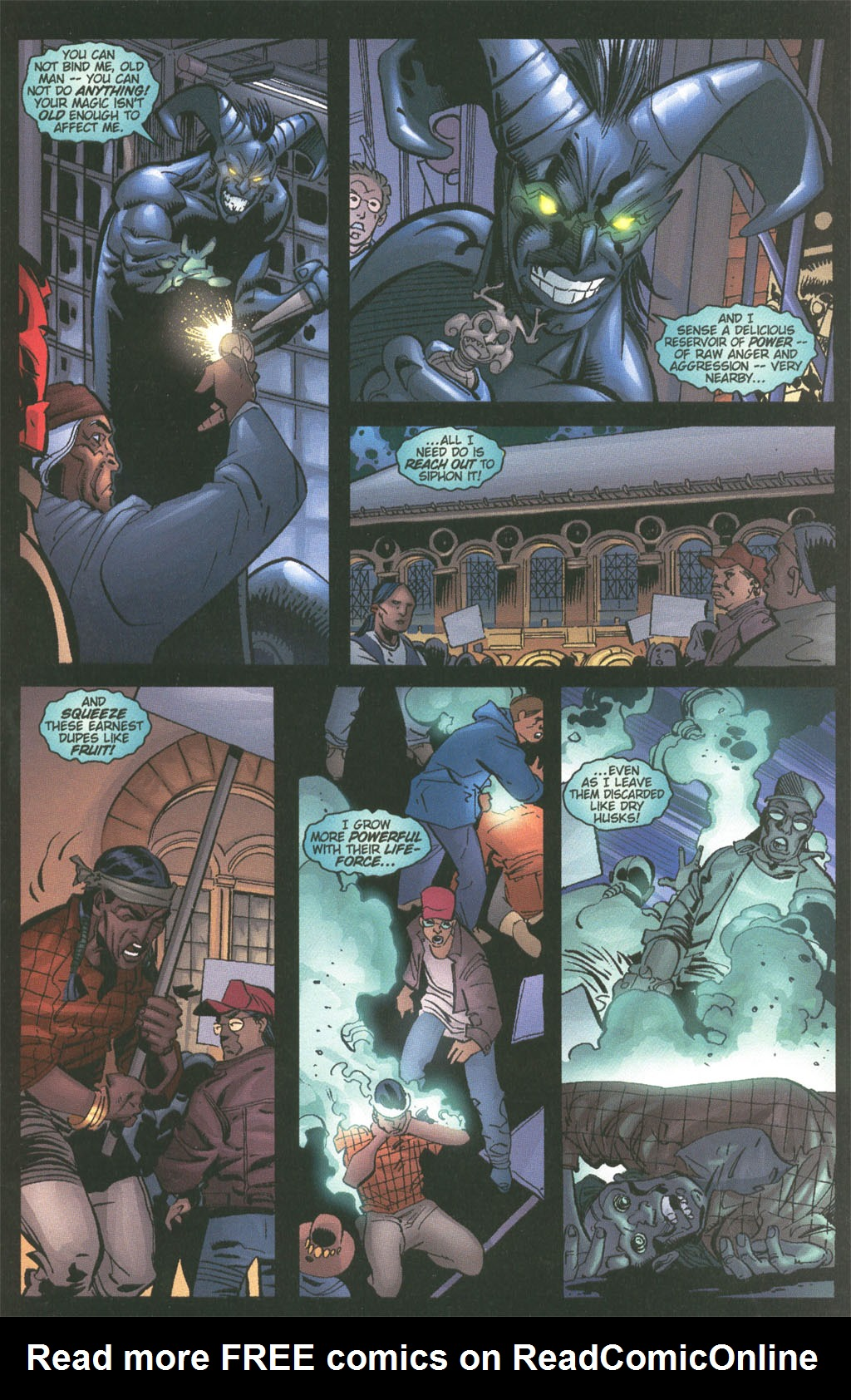Read online Painkiller Jane/Hellboy comic -  Issue # Full - 11