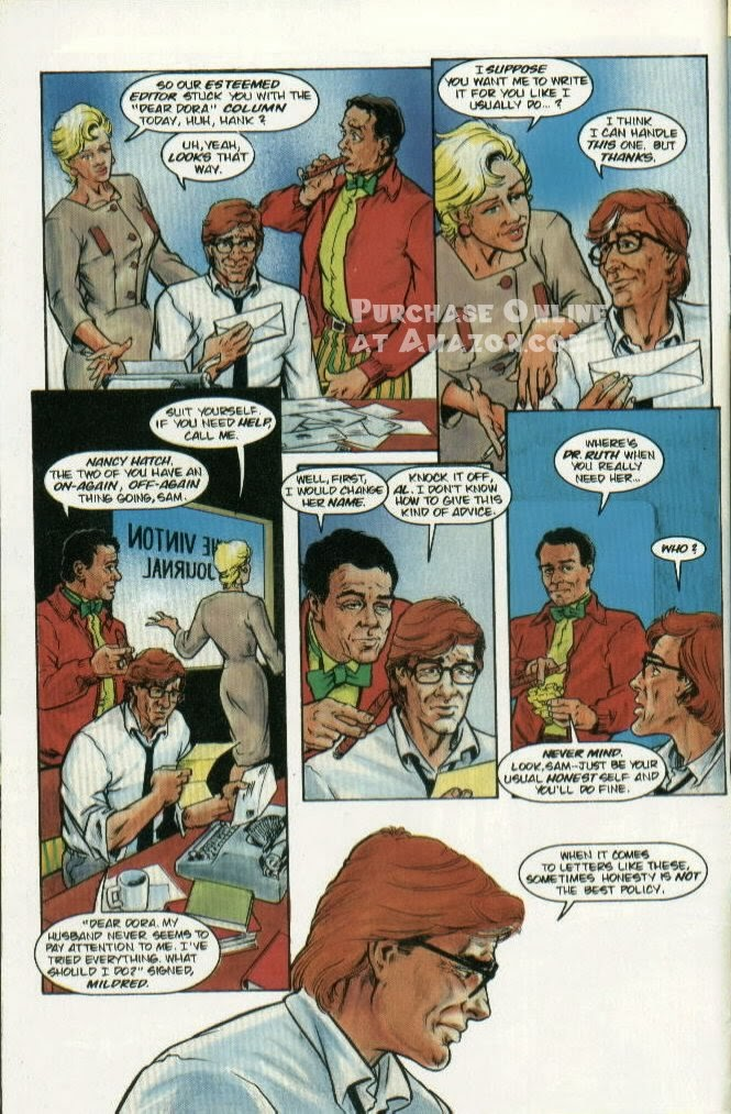 Read online Quantum Leap comic -  Issue #5 - 5