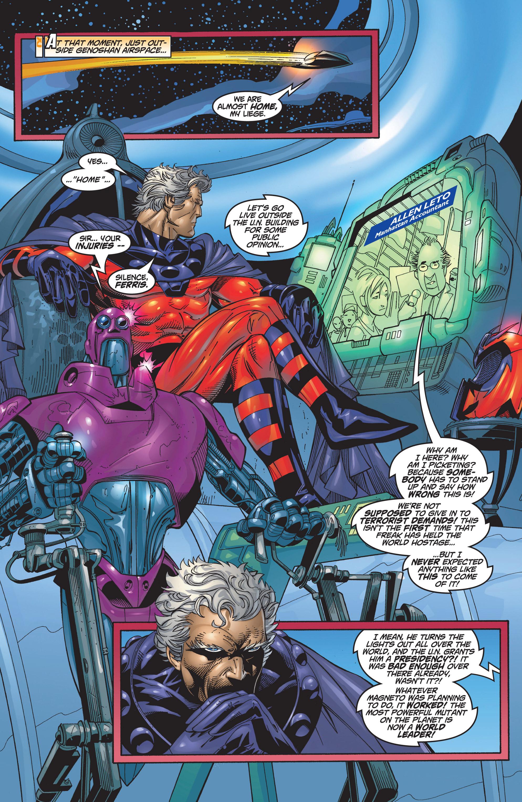 Read online Uncanny X-Men (1963) comic -  Issue #368 - 9