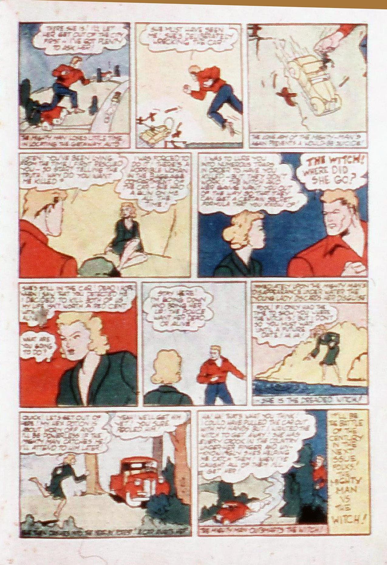 Read online Amazing Man Comics comic -  Issue #20 - 36