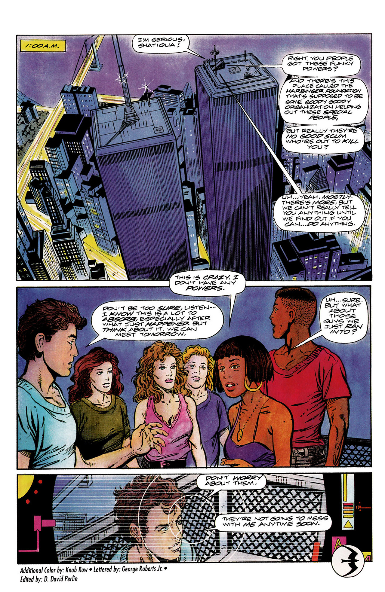 Read online Harbinger (1992) comic -  Issue #10 - 23