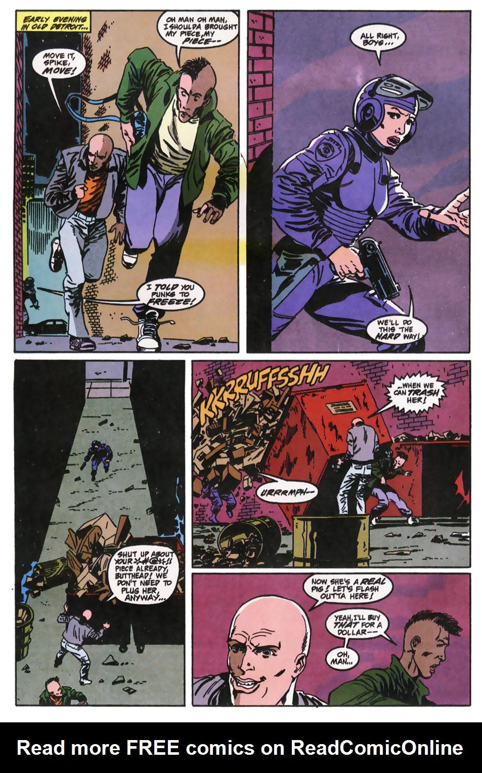 Read online Robocop (1990) comic -  Issue #11 - 5
