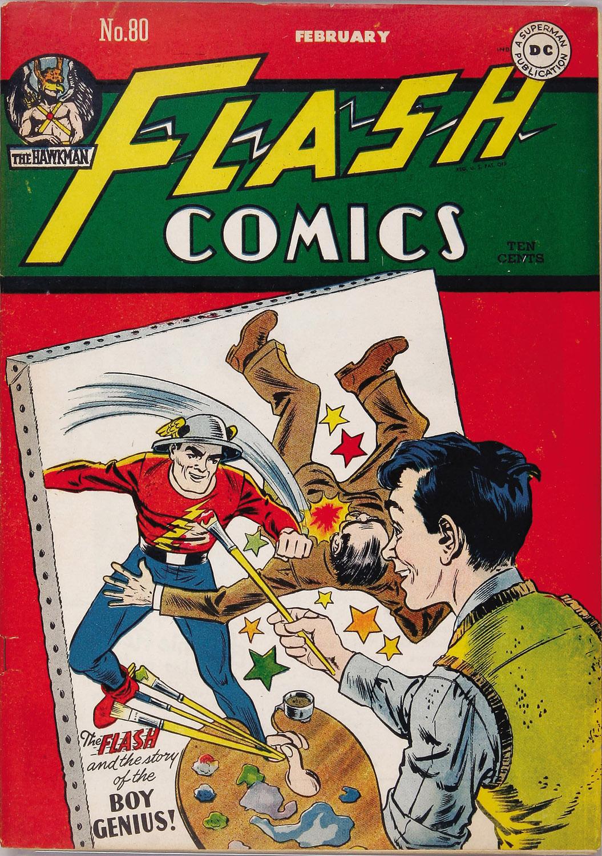 Flash Comics 80 Page 1