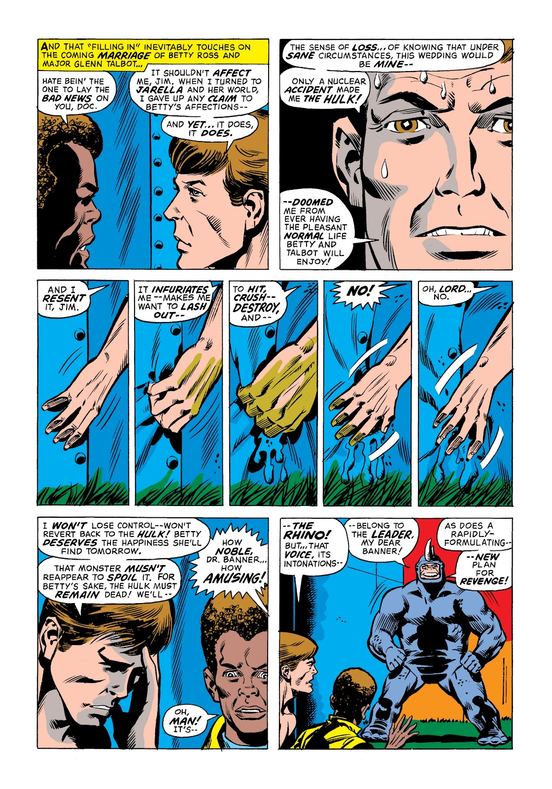 Read online Marvel Masterworks: The Incredible Hulk comic -  Issue # TPB 9 (Part 1) - 23