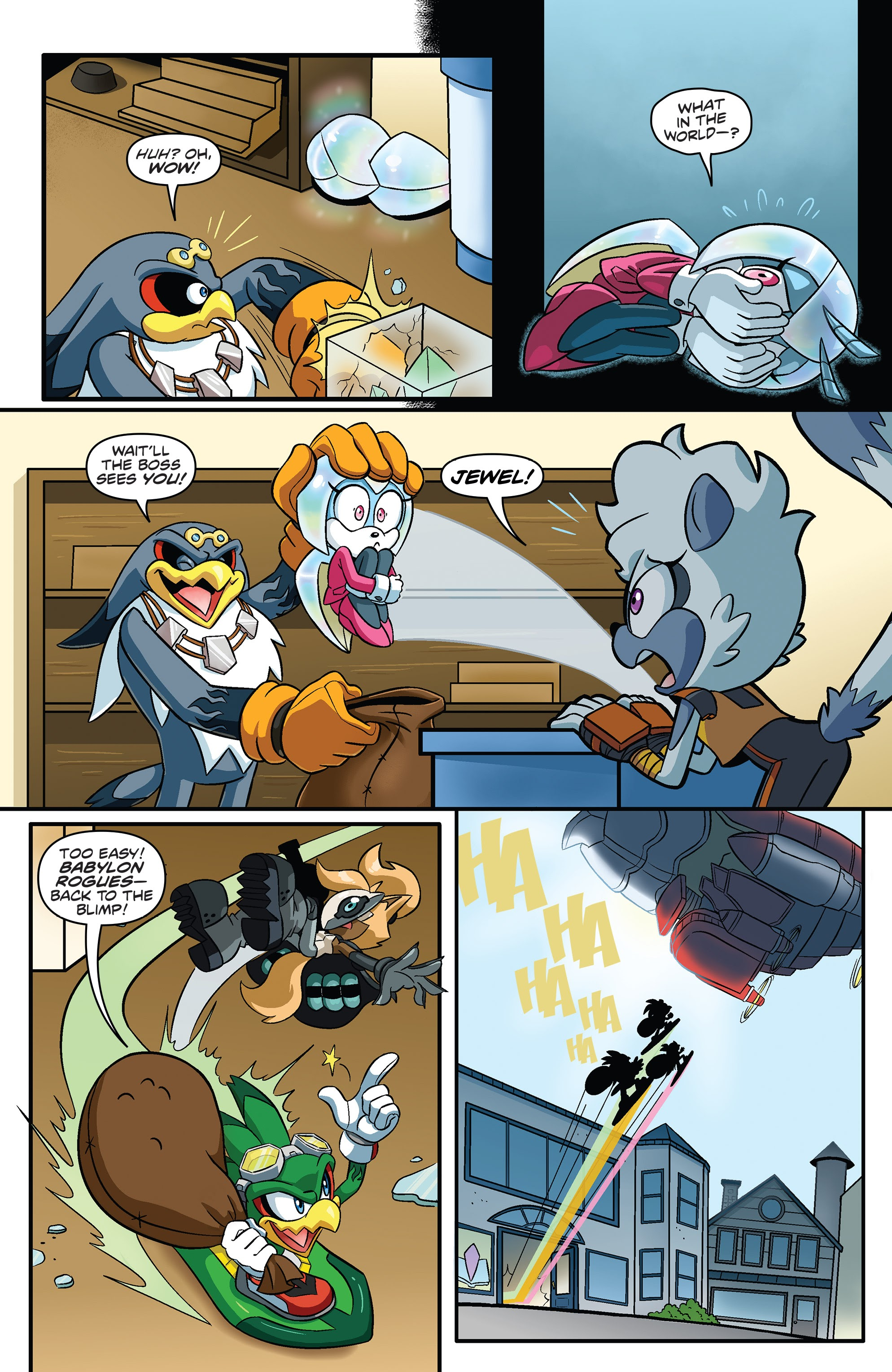 Sonic The Hedgehog Tangle Whisper 3 Read Sonic The Hedgehog Tangle Whisper Issue 3 Page 29