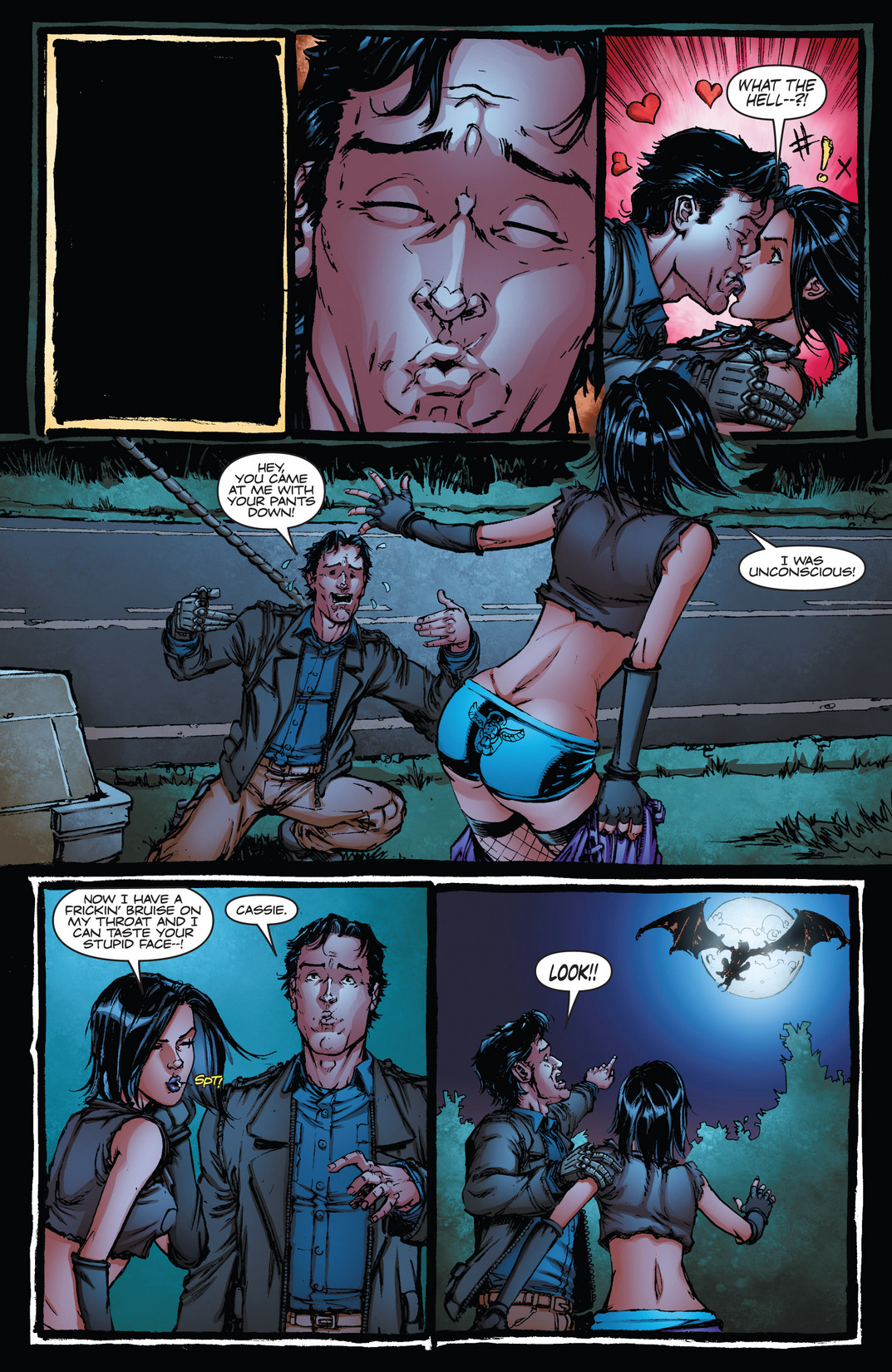 Read online Army of Darkness vs. Hack/Slash comic -  Issue #4 - 12