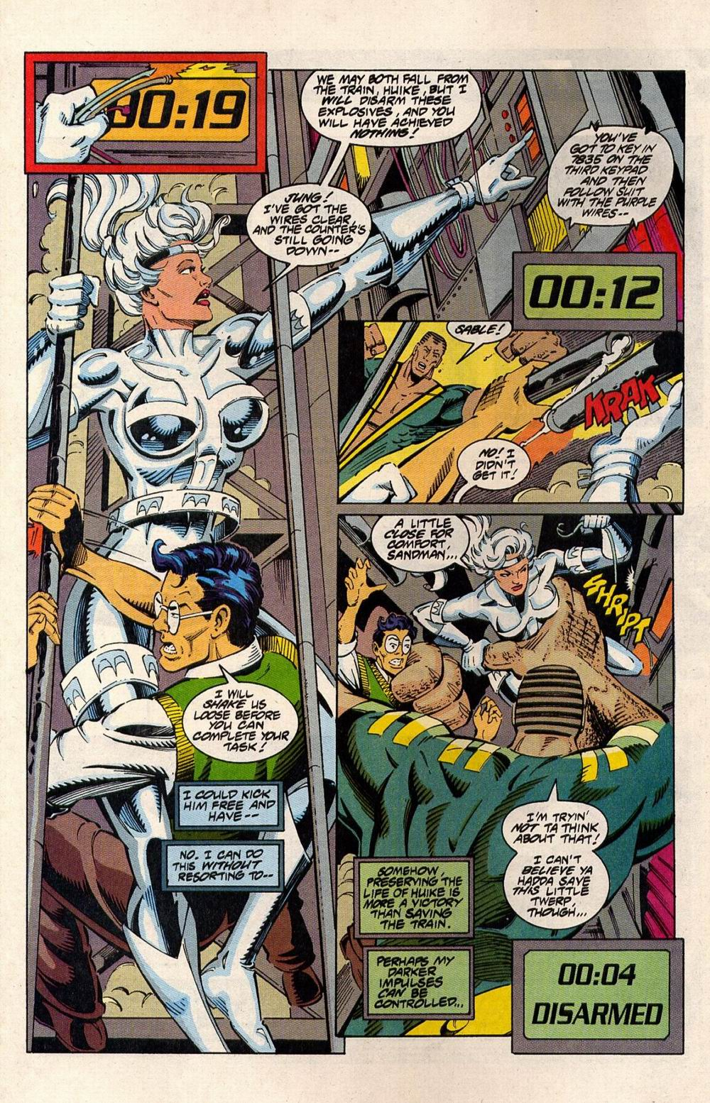 Read online Silver Sable and the Wild Pack comic -  Issue #33 - 8