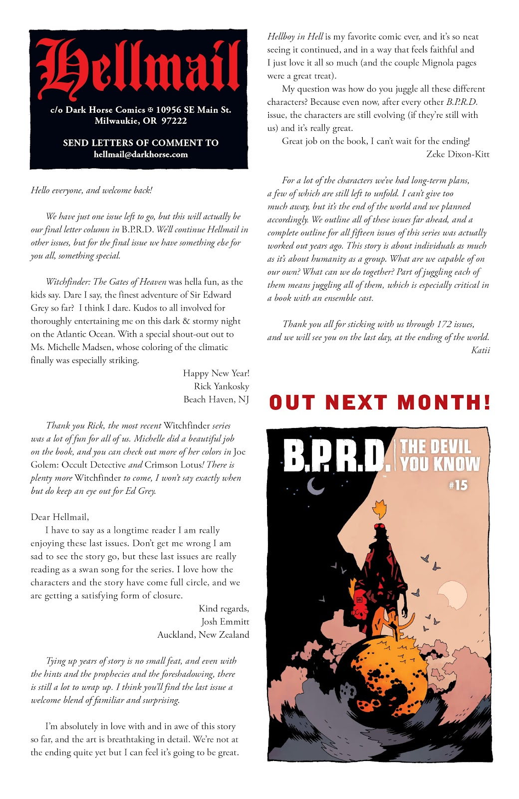 Read online B.P.R.D. The Devil You Know comic -  Issue #14 - 24