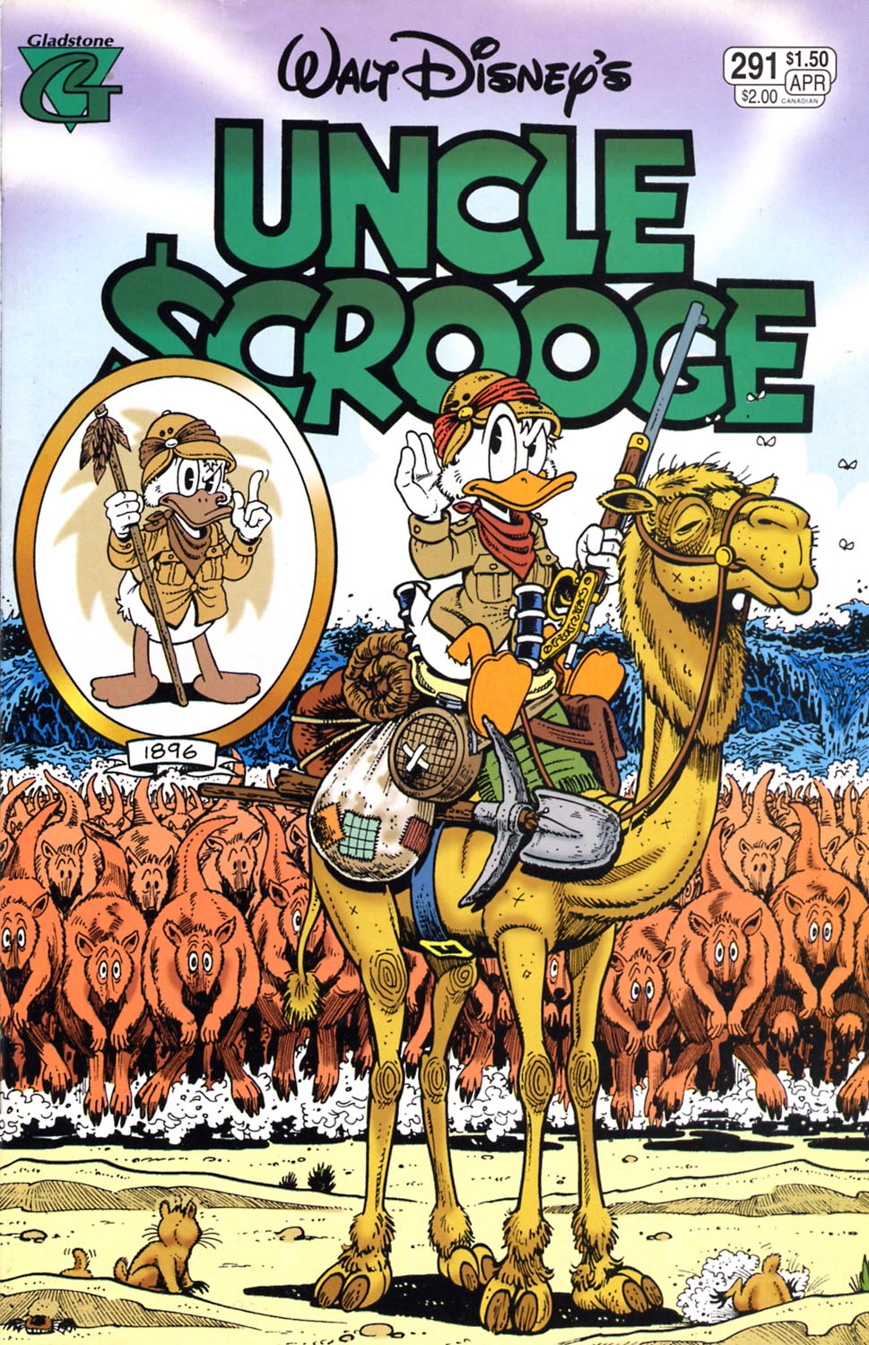 Read online Uncle Scrooge (1953) comic -  Issue #291 - 1