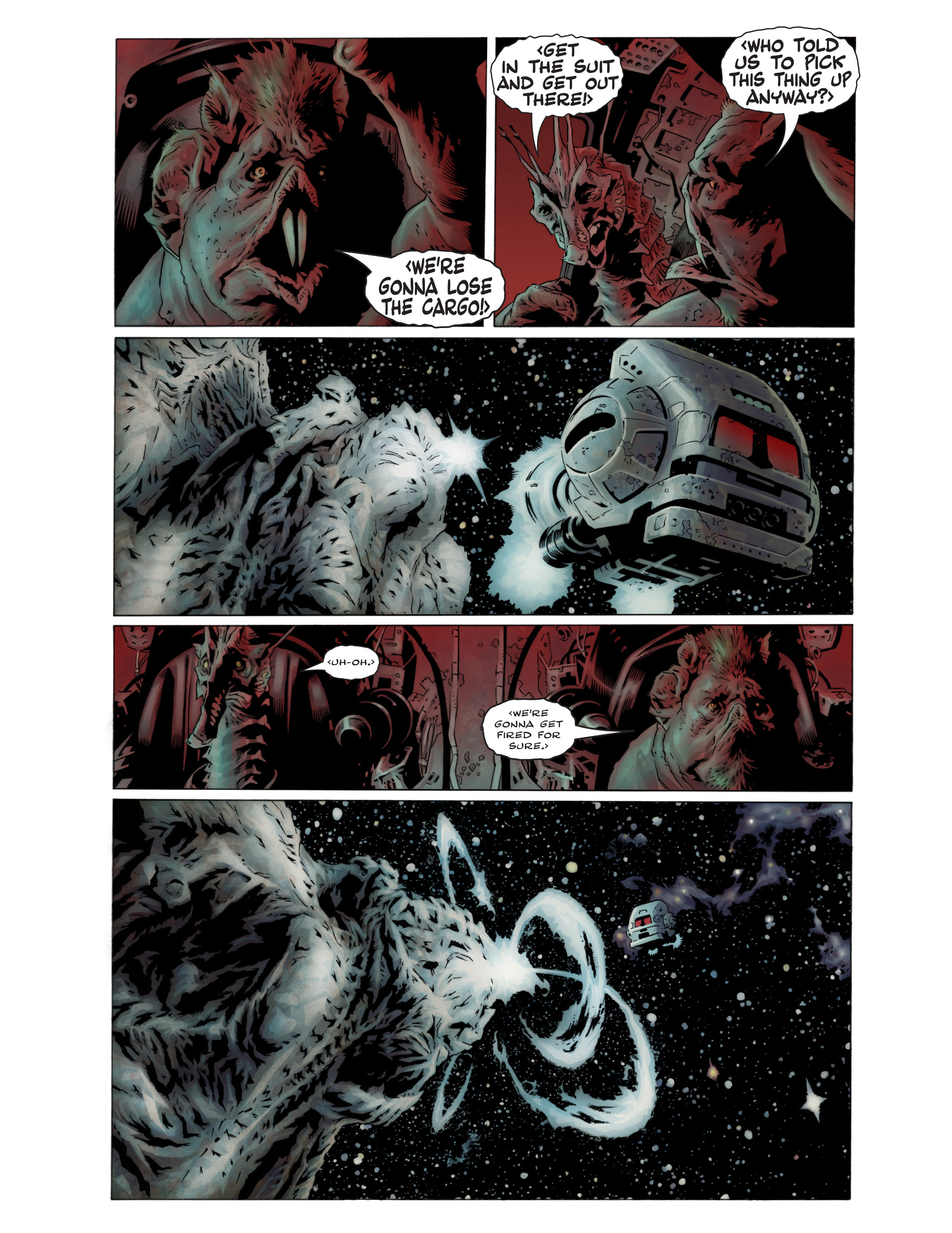 Read online Bad Planet comic -  Issue # TPB - 10