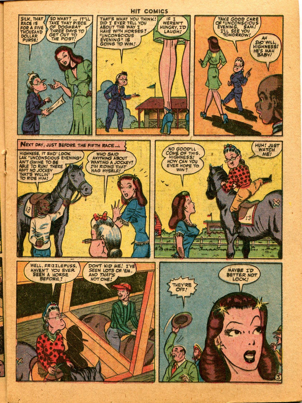 Read online Hit Comics comic -  Issue #35 - 27