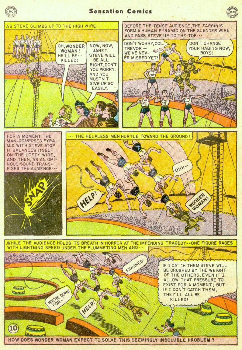 Read online Sensation (Mystery) Comics comic -  Issue #98 - 12