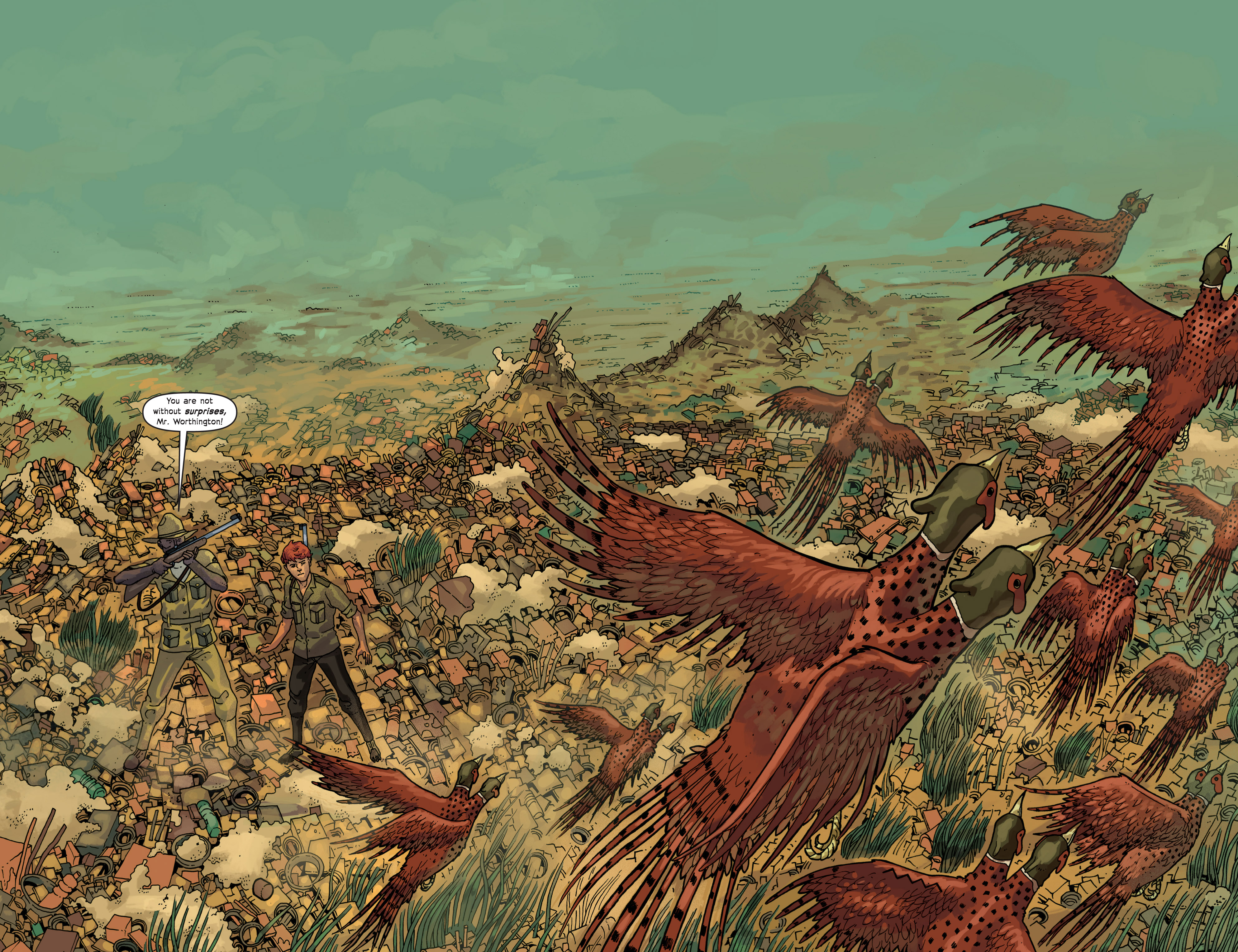 Read online Great Pacific comic -  Issue #9 - 16
