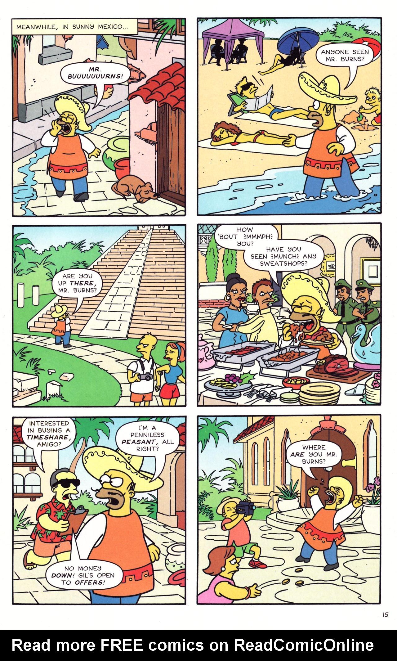 Read online Simpsons Comics comic -  Issue #133 - 12