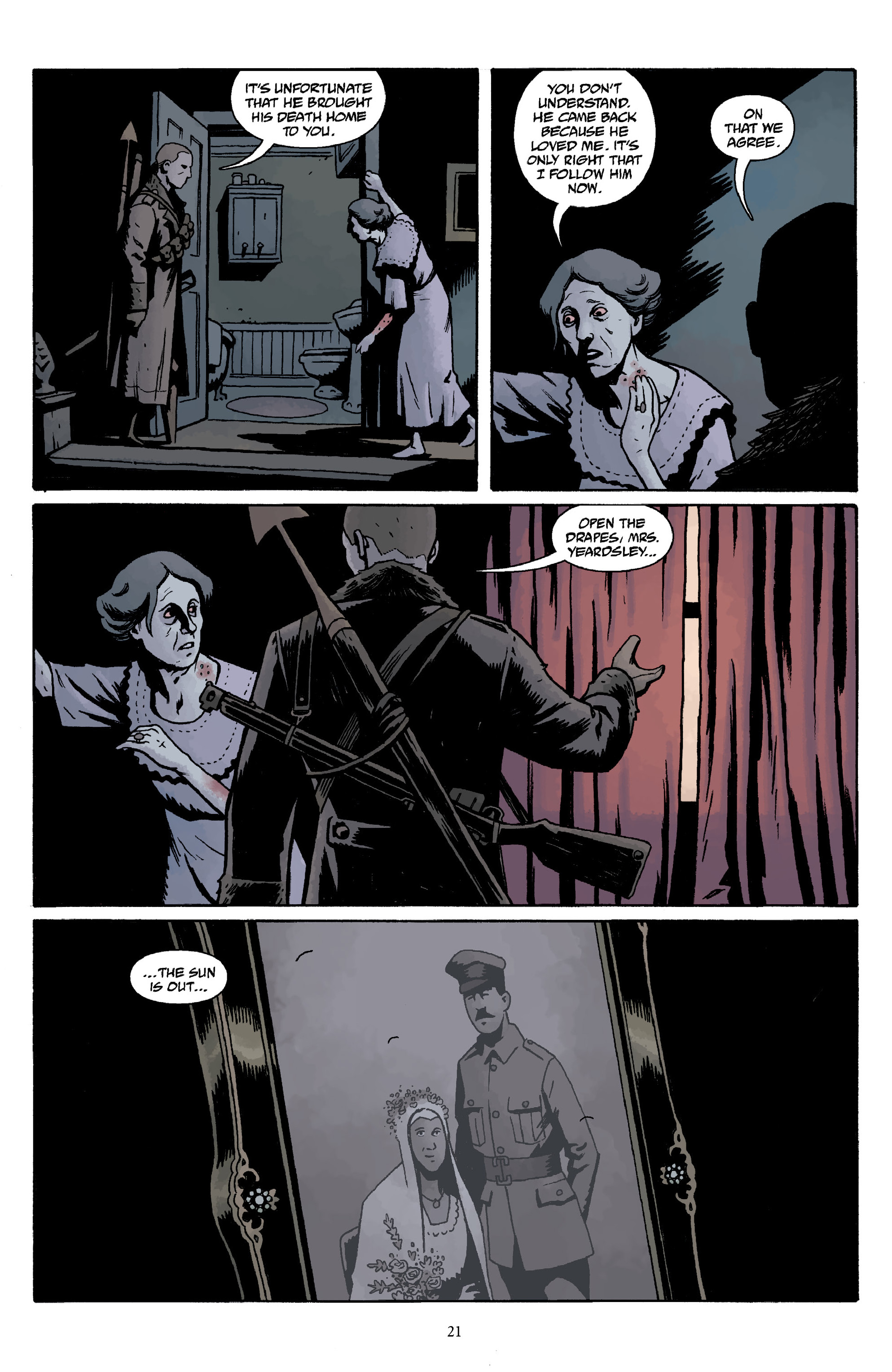 Read online Baltimore Volume 3: A Passing Stranger and Other Stories comic -  Issue # Full - 23