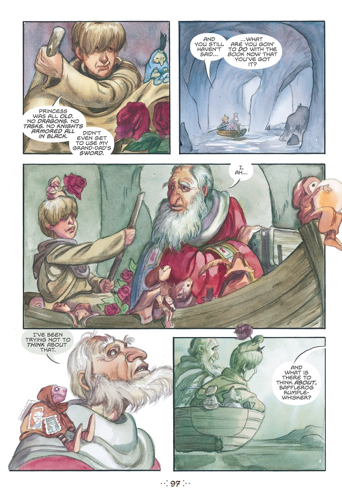 Read online The Wizard's Tale comic -  Issue # TPB - 92
