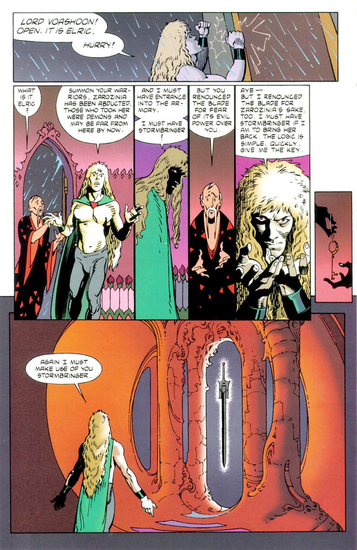 Read online Elric: Stormbringer comic -  Issue #1 - 10