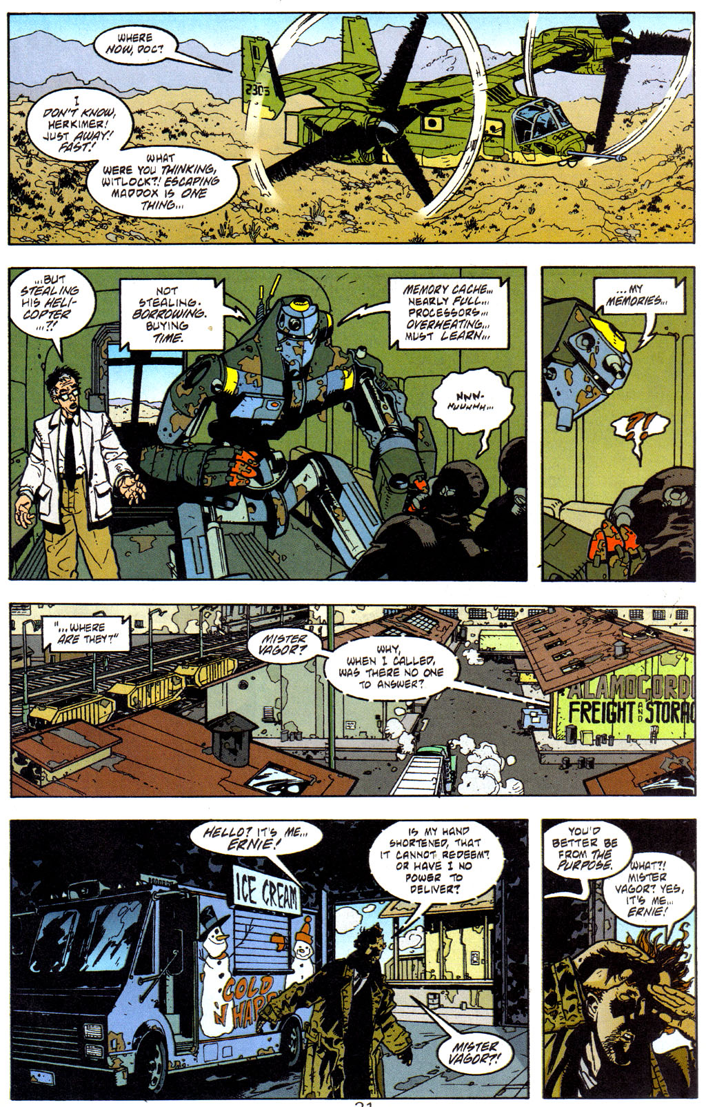 Read online Trouble Magnet comic -  Issue #2 - 22