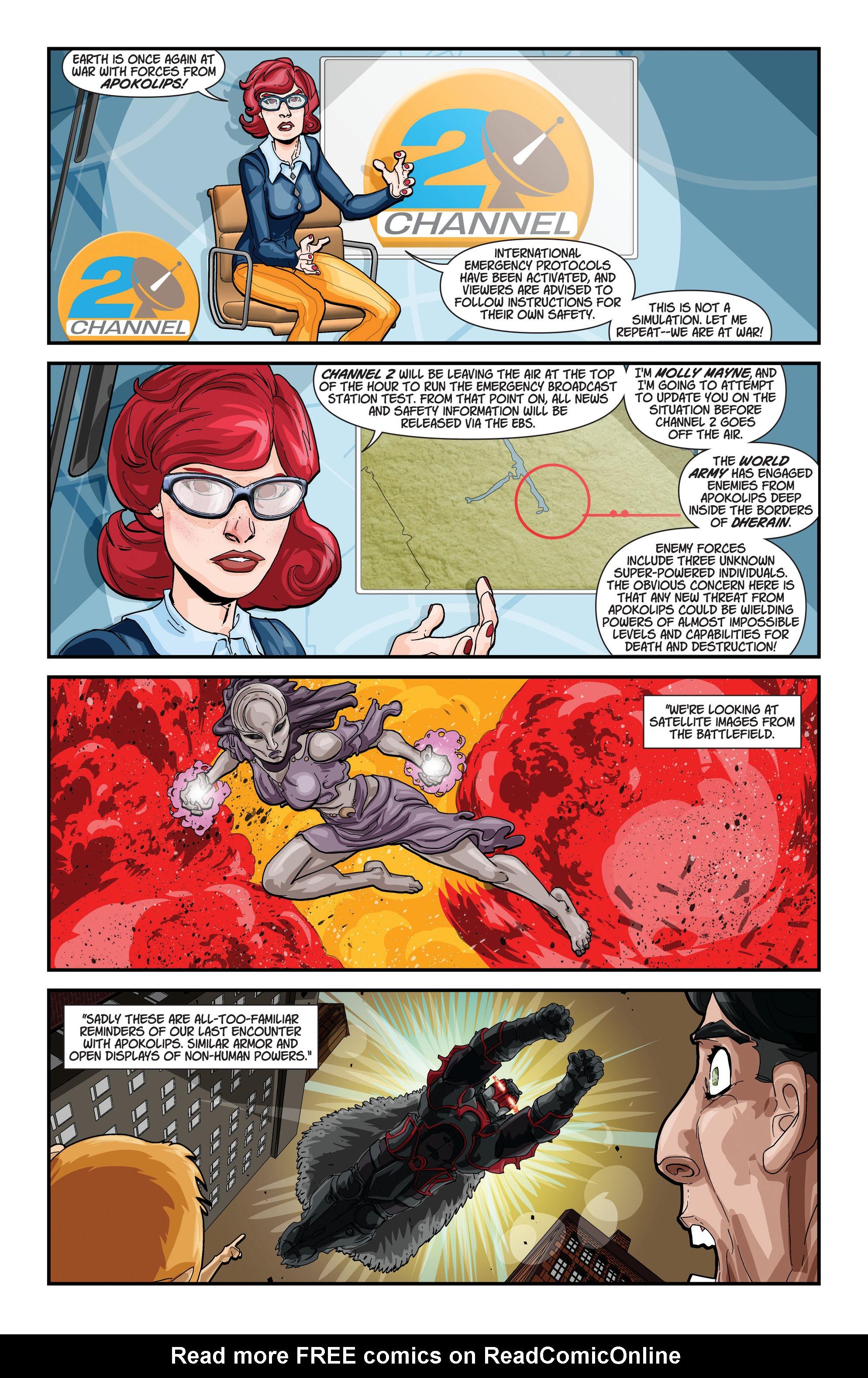 Read online Trinity of Sin: Pandora comic -  Issue #1 - 21