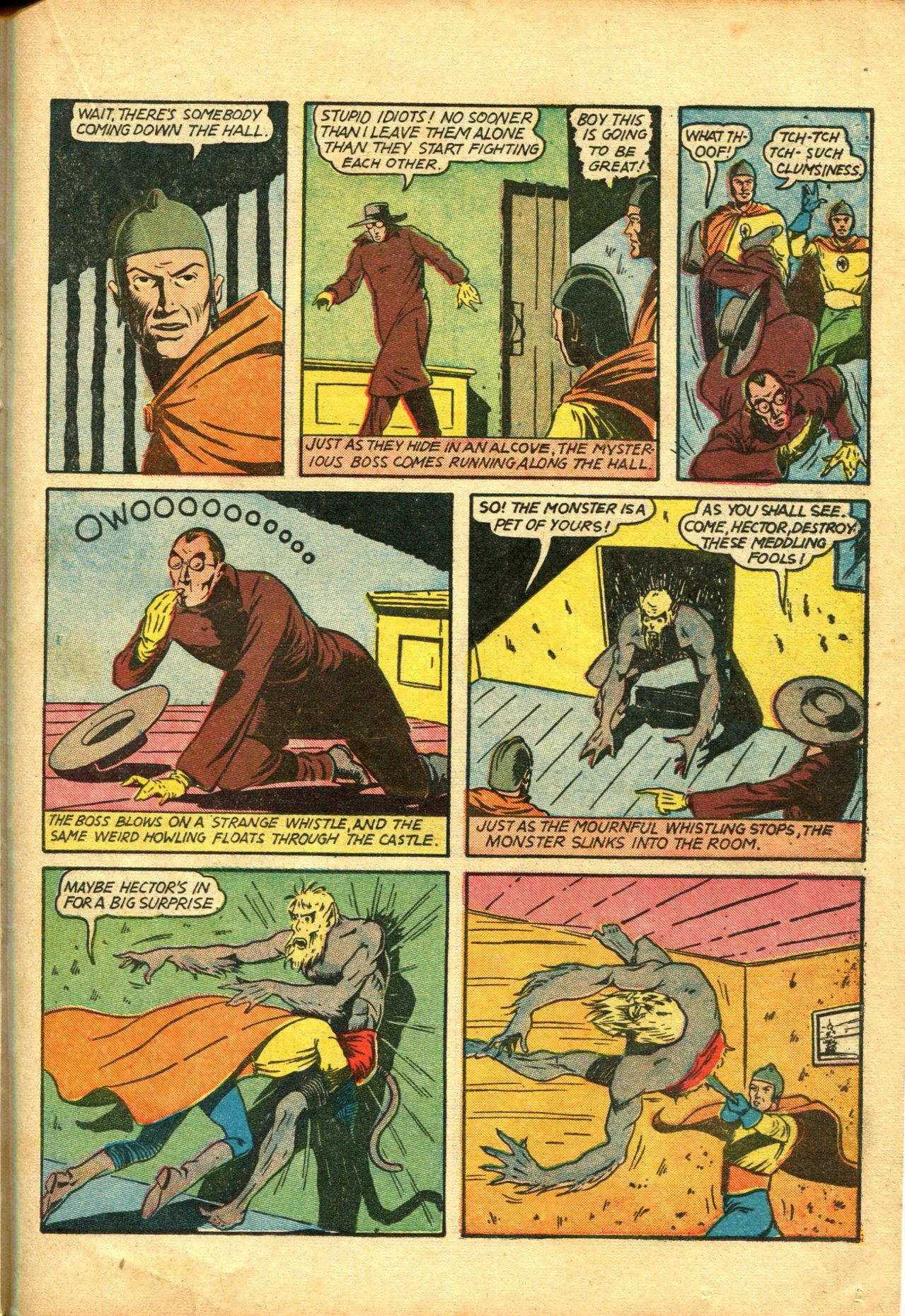 Read online Shadow Comics comic -  Issue #10 - 45