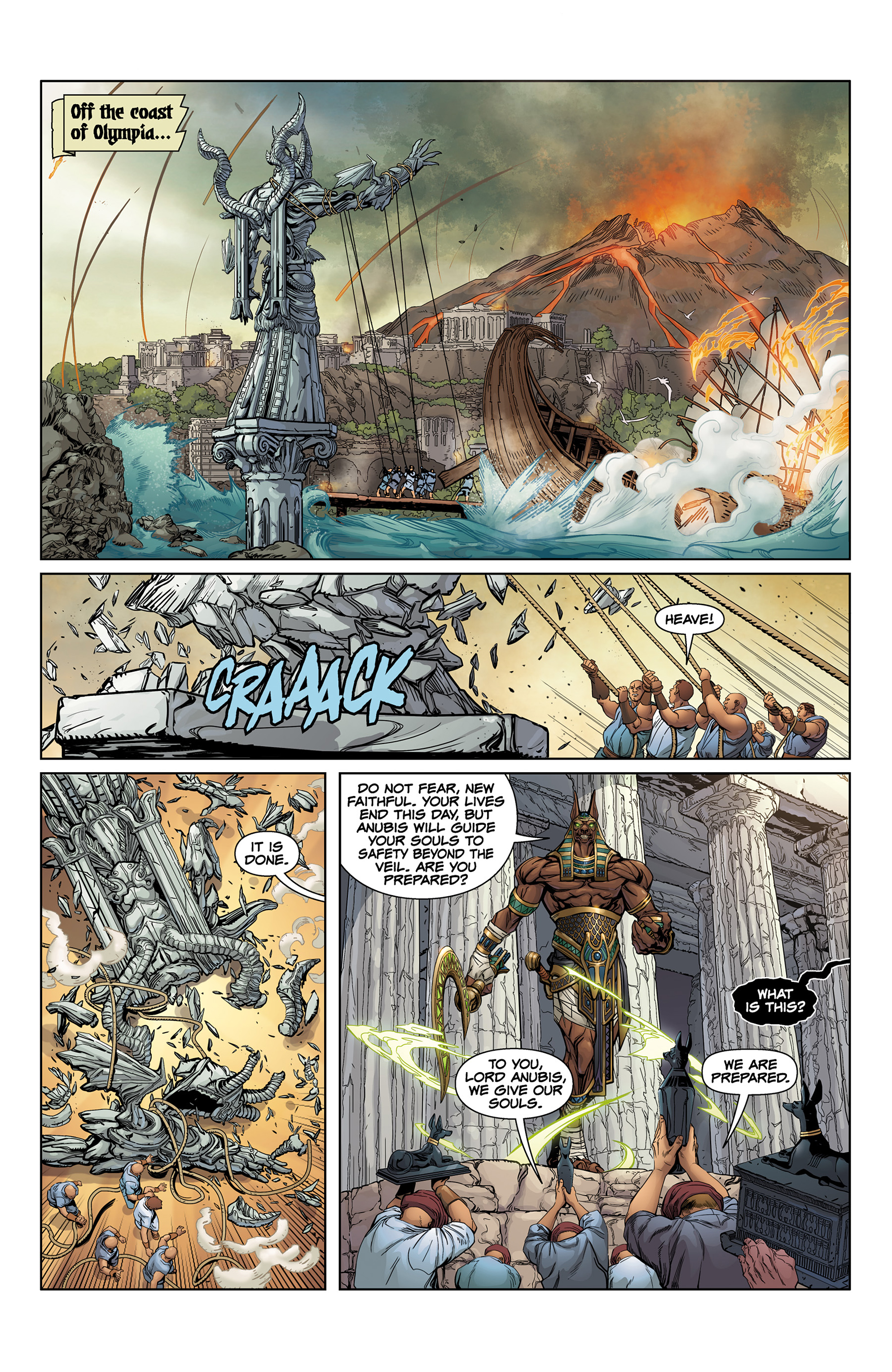 Read online SMITE: The Pantheon War comic -  Issue #1 - 6
