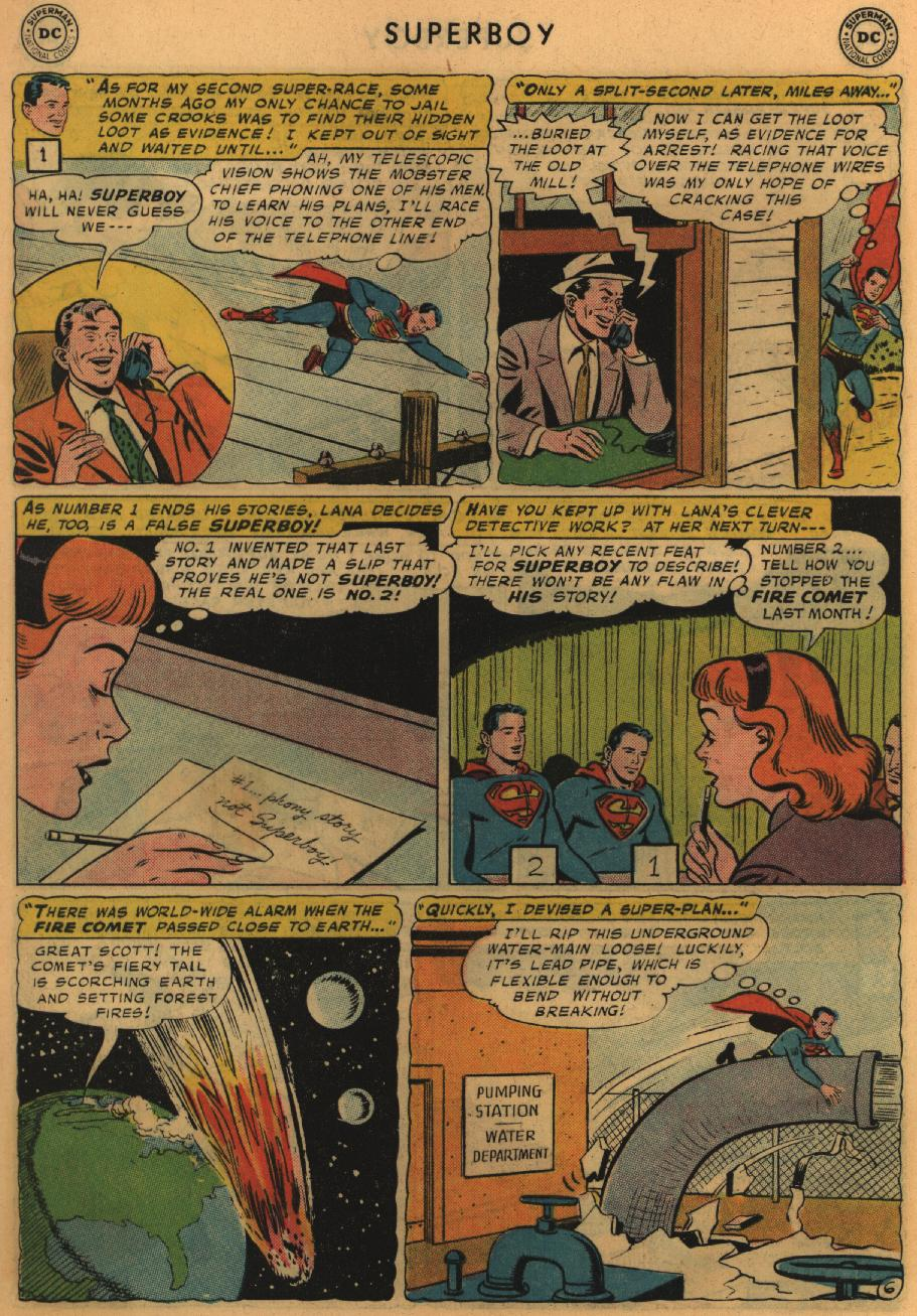 Superboy (1949) issue 67 - Page 7