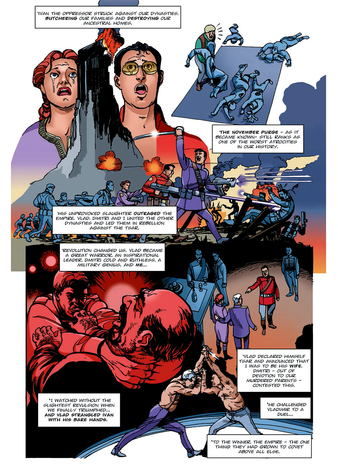 Read online Nikolai Dante comic -  Issue # TPB 4 - 141