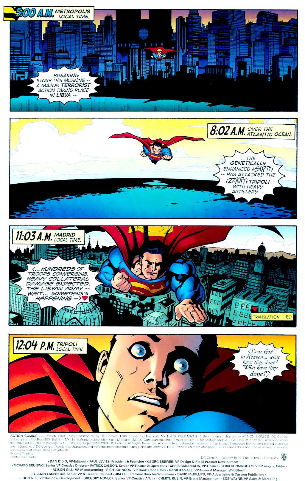 Action Comics (1938) 775 Page 1