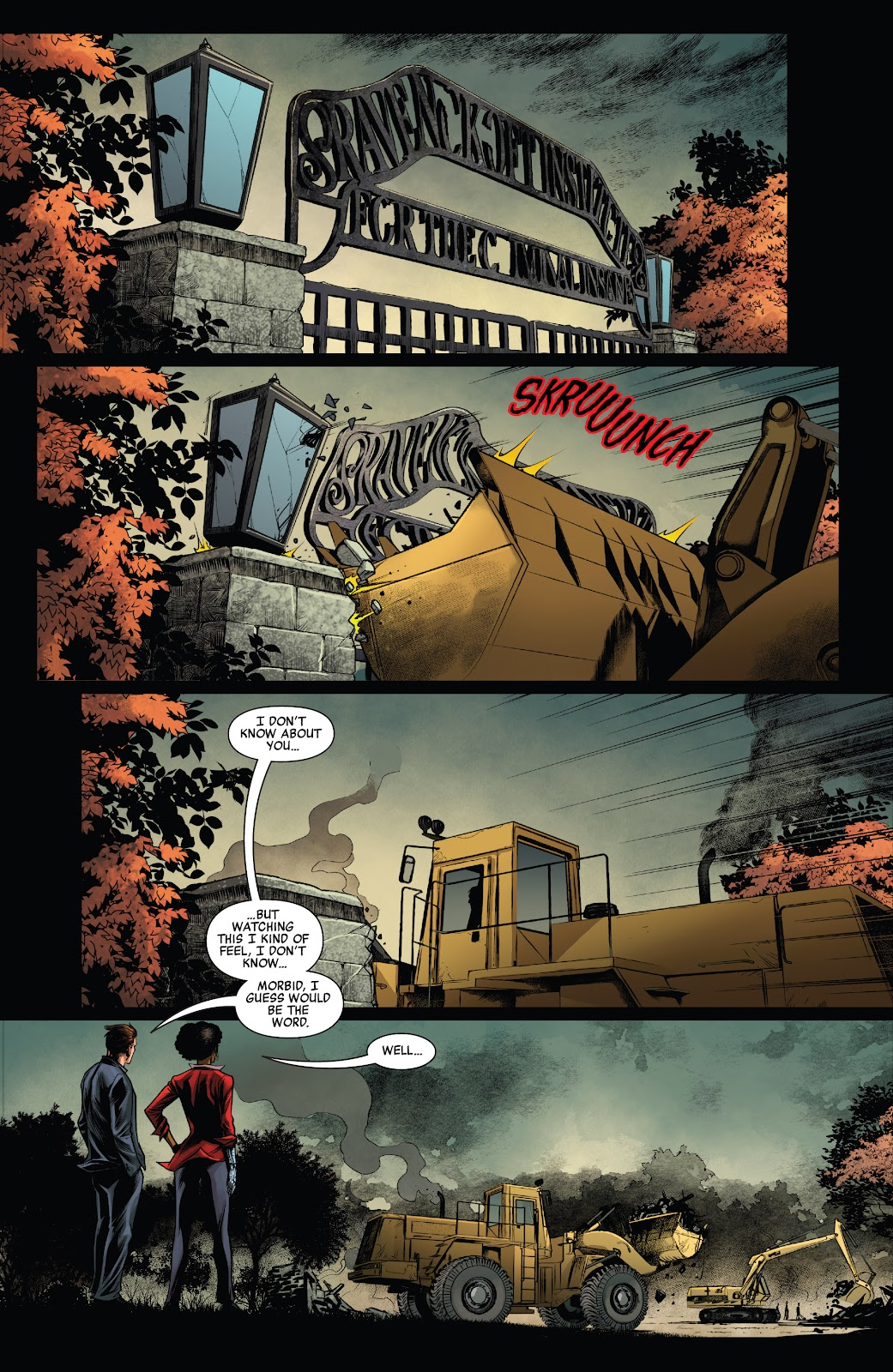 Read online Ruins Of Ravencroft comic -  Issue # Carnage - 3