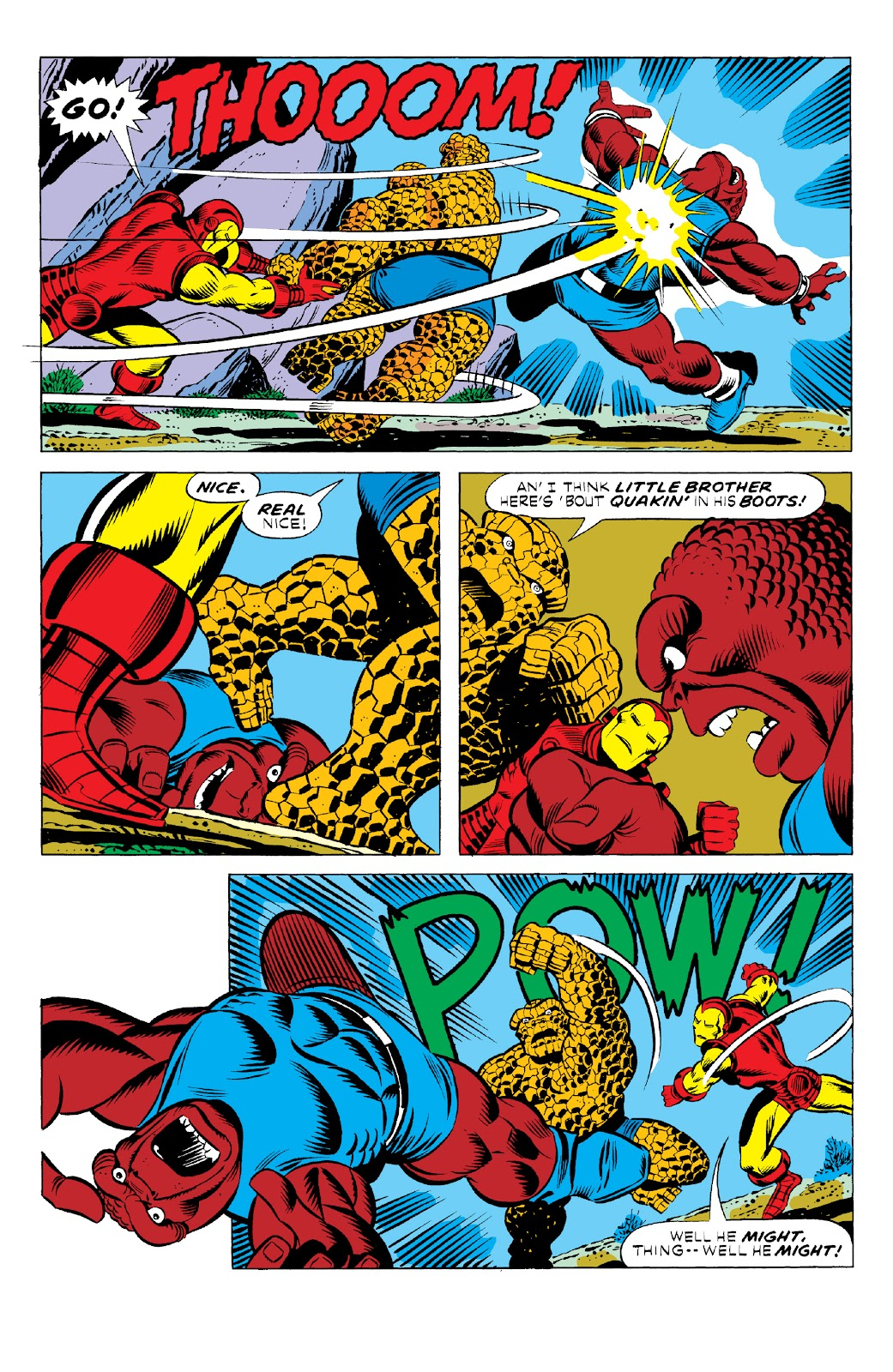 Read online Marvel Two-In-One Epic Collection: Cry Monster comic -  Issue # TPB (Part 1) - 43