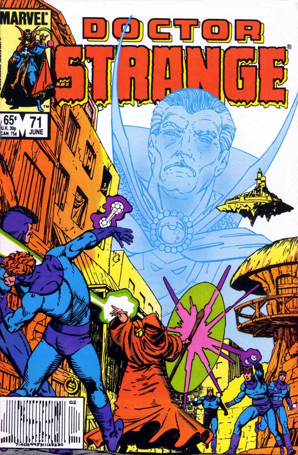 Doctor Strange (1974) 71 Page 1