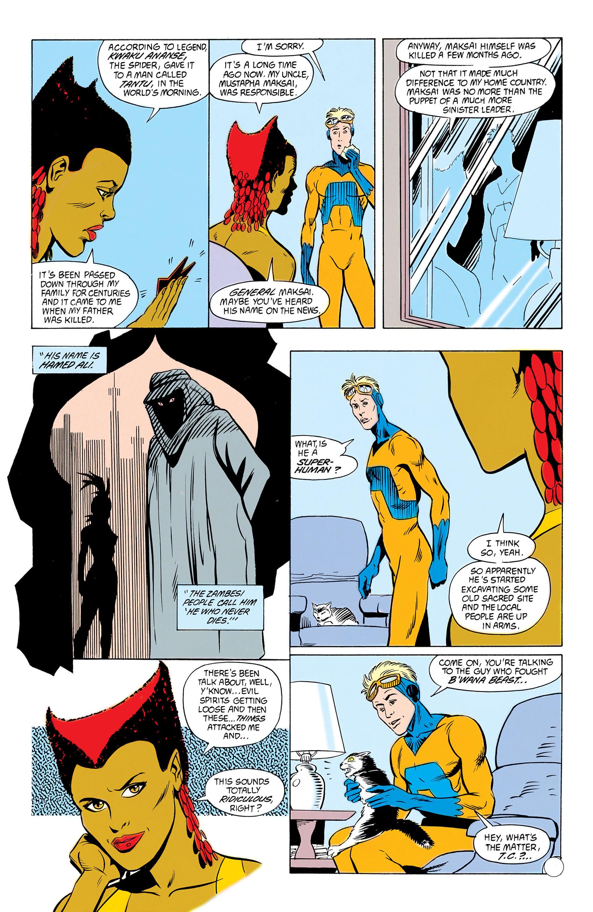 Read online Animal Man (1988) comic -  Issue #10 - 38