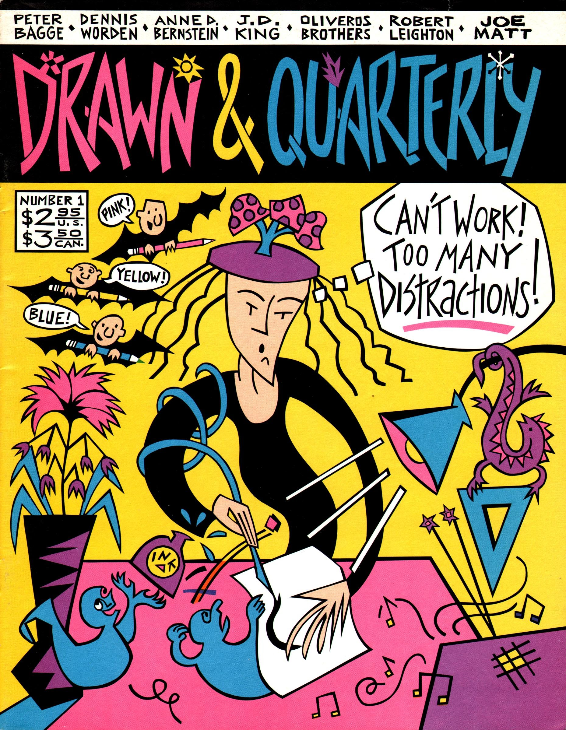 Drawn & Quarterly (1990) issue 1 - Page 1