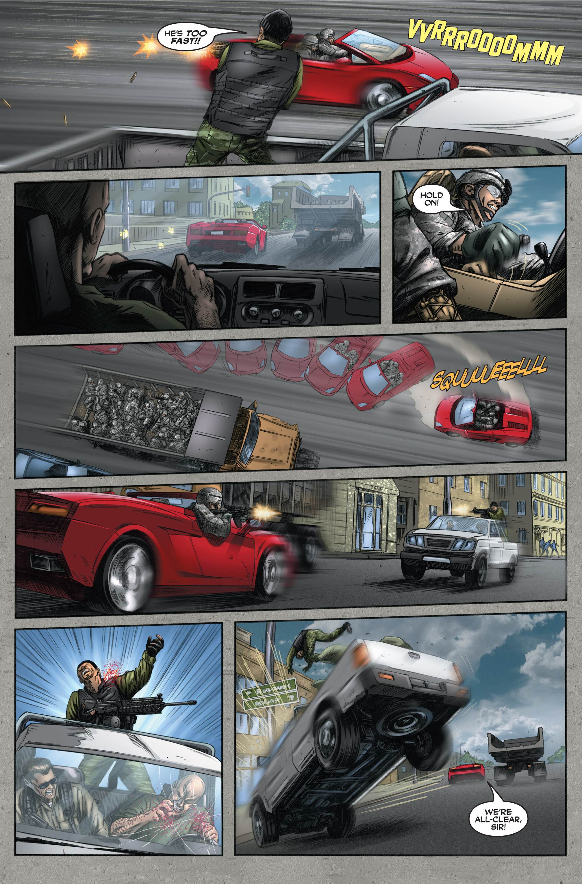 Read online America's Army comic -  Issue #6 - 35