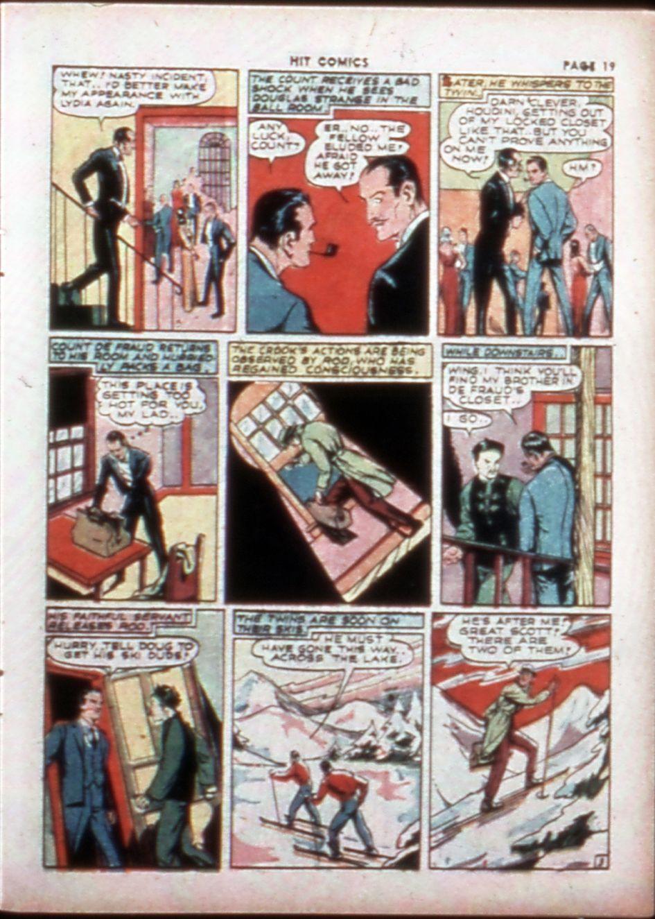 Read online Hit Comics comic -  Issue #14 - 21