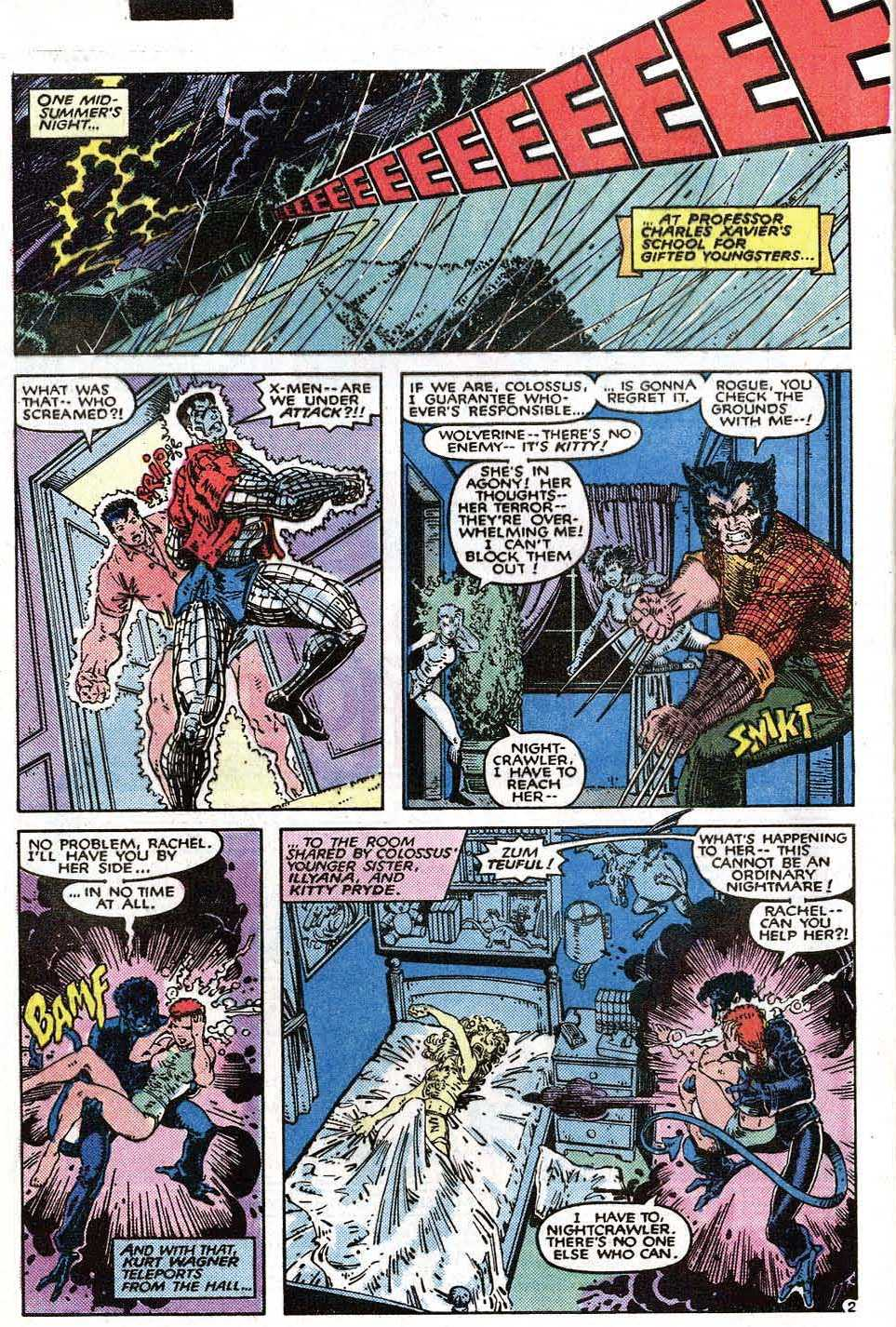 Read online Uncanny X-Men (1963) comic -  Issue # _Annual 9 - 4