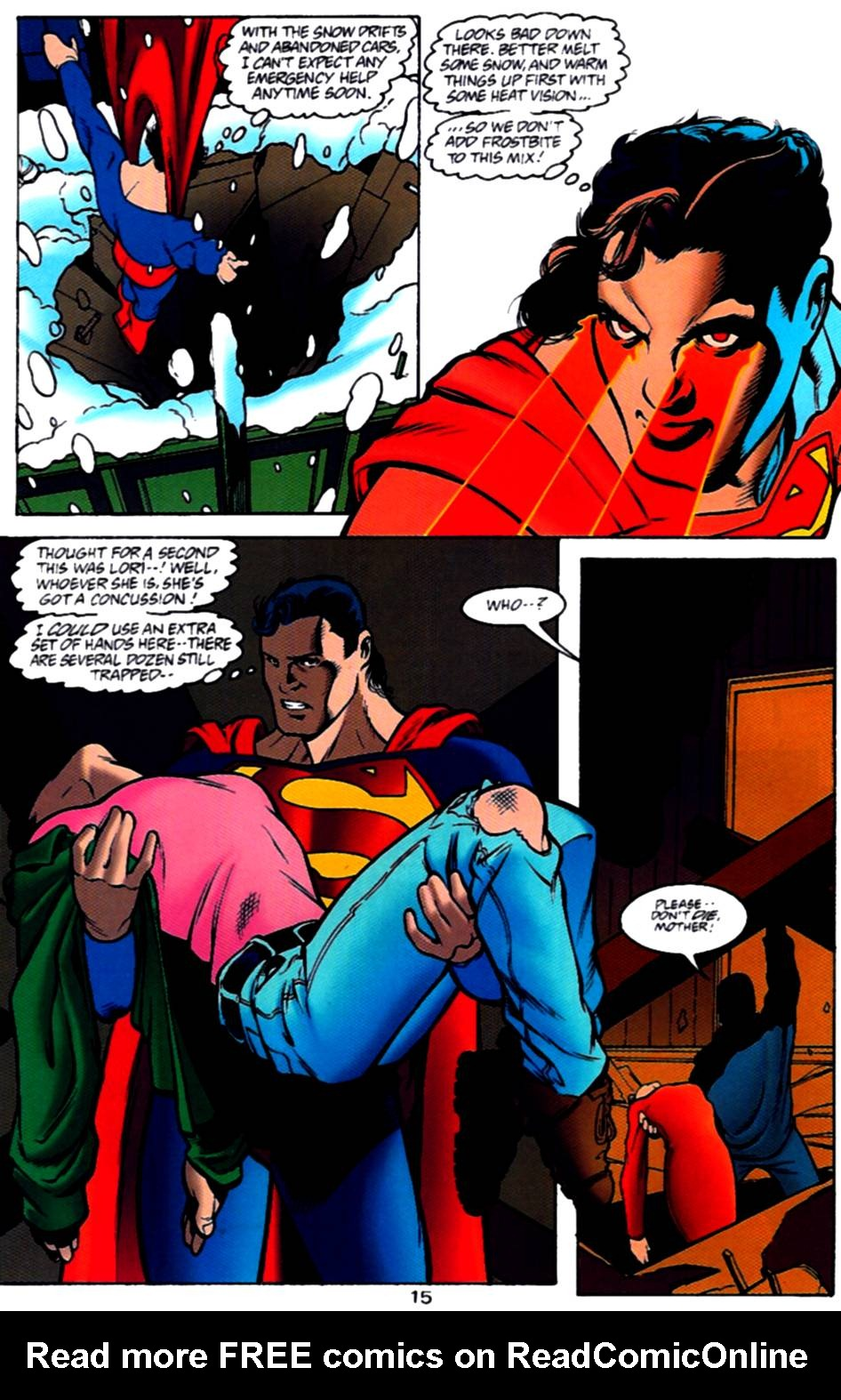 Read online Adventures of Superman (1987) comic -  Issue #540 - 16